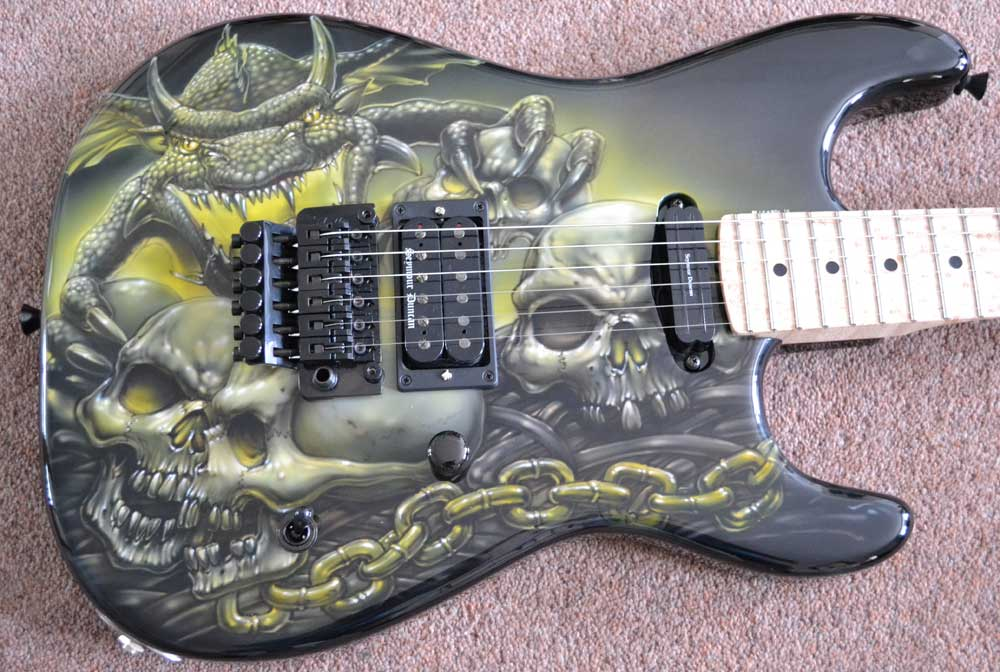 Stormshadow Guitar Archive
