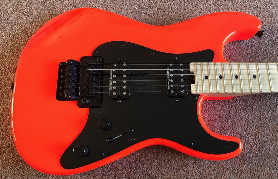 Charvel So Cal MiM Rocket Red