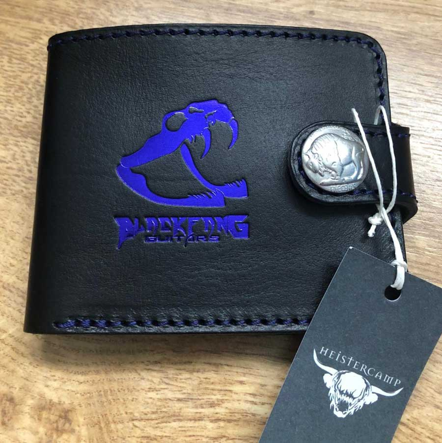 BlackFang Guitars Heistercamp Leather Wallet