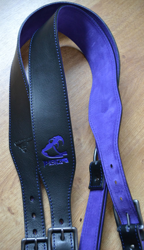 BlackFang Guitars Heistercamp Leather Guitar Strap